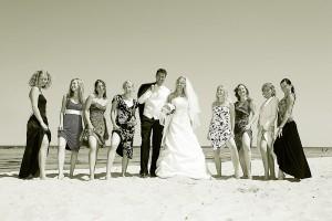 Hochzeitsfotos-Seebruecke
