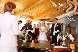 Hochzeit auf der Seebrücke Sellin
